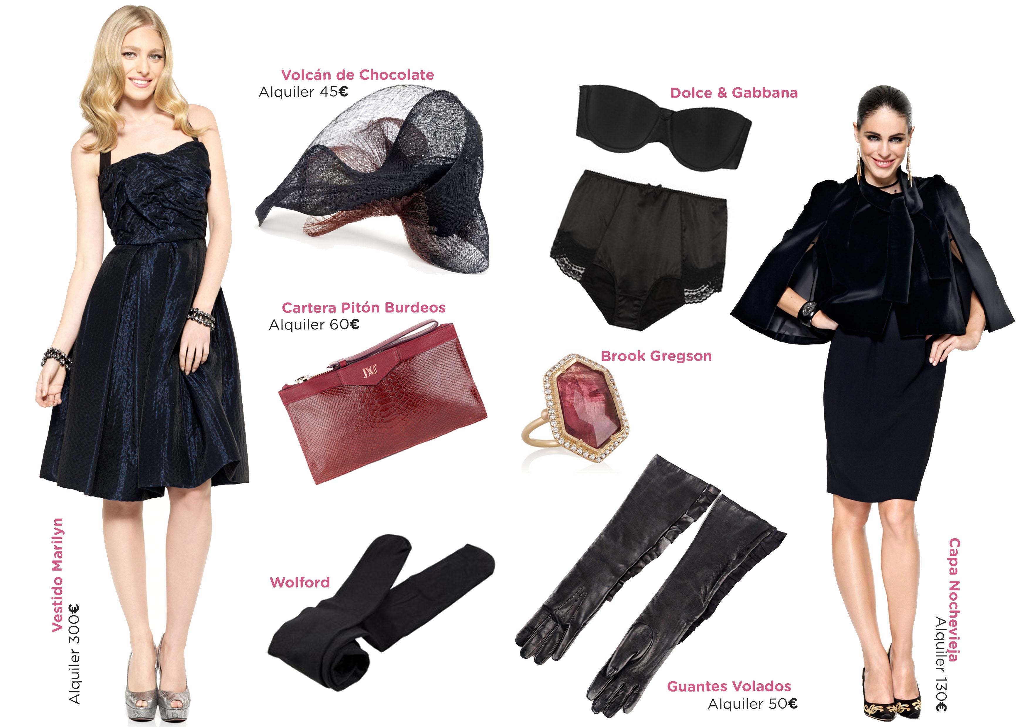 Complementos Para Vestido Negro En Boda Vestidos Populares