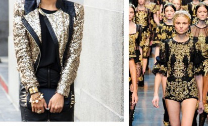 Tendencia Black and Gold