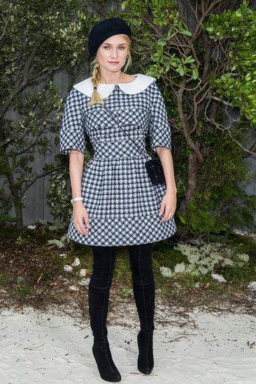 Diane Kruger en desfile alta costura ss13 Paris