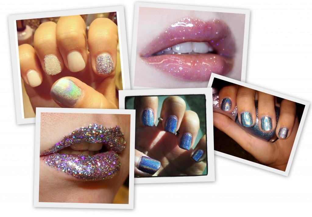 el look marino y de sirenas llega a la belleza de uñas y labios