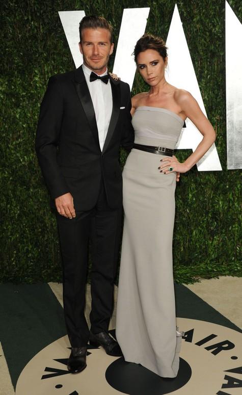 Beckham en la fiesta pos ceremonia de los Oscar