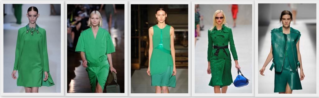 El verde esmeralda tendencia PV13