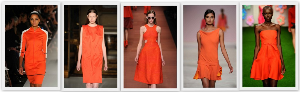 El color naranja tendencia PV13