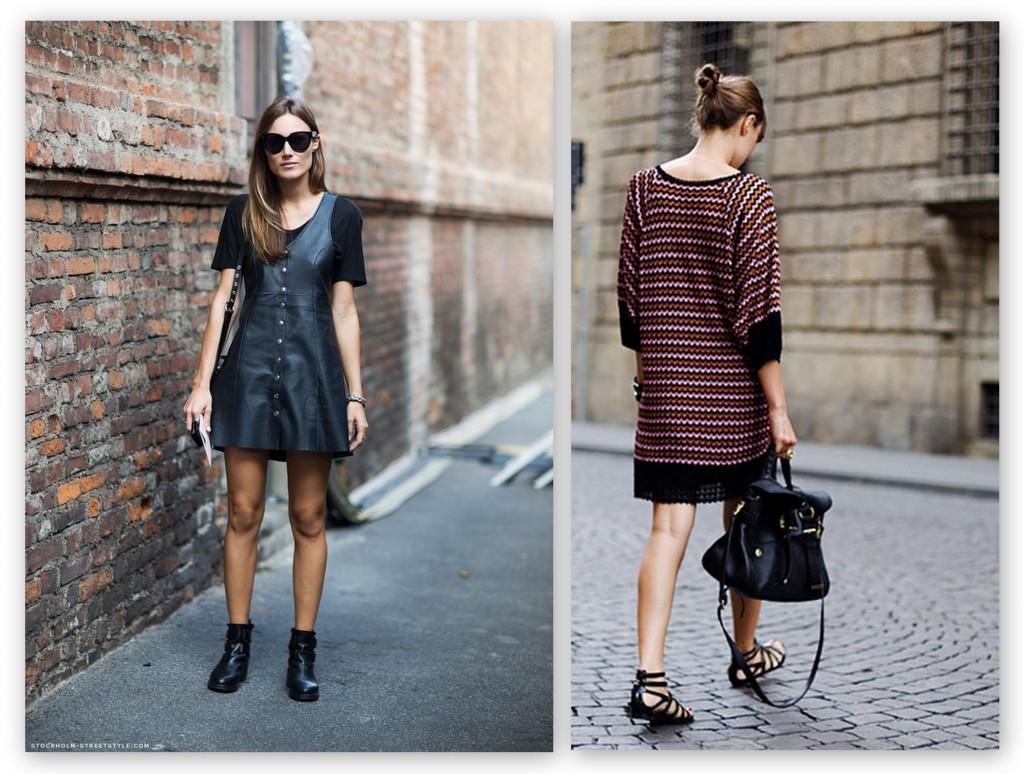 La diseñadora Giorgia Tordini  looks casual