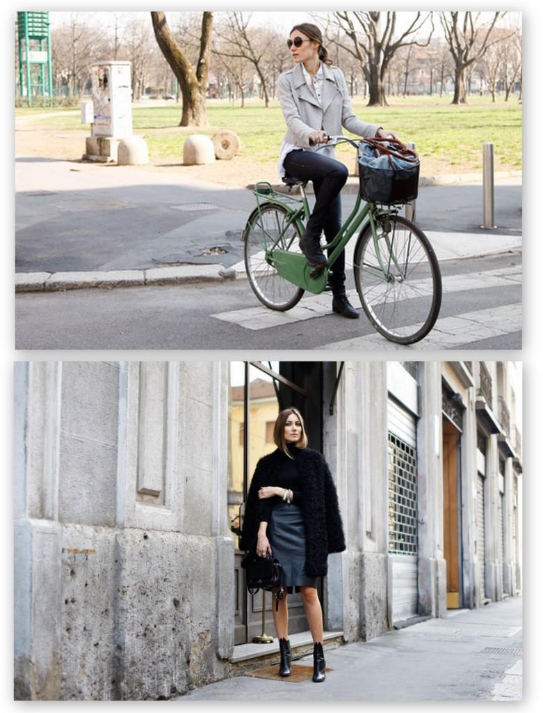 La diseñadora Giorgia Tordini con looks casual muy naturales