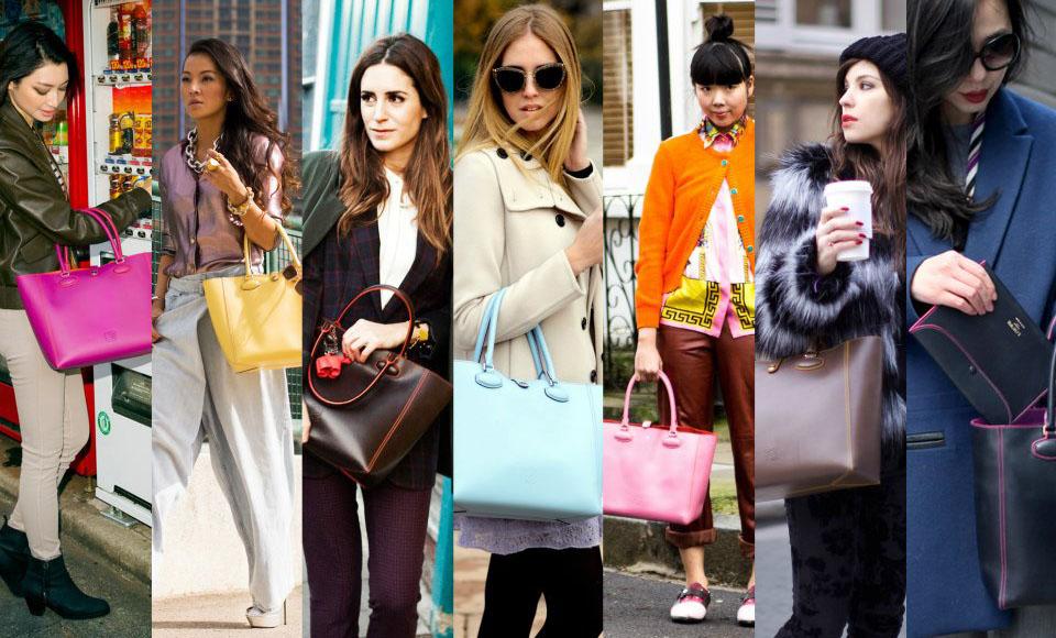 blogguer de todo el mundo para la campaña del nuevo bolso de loewe
