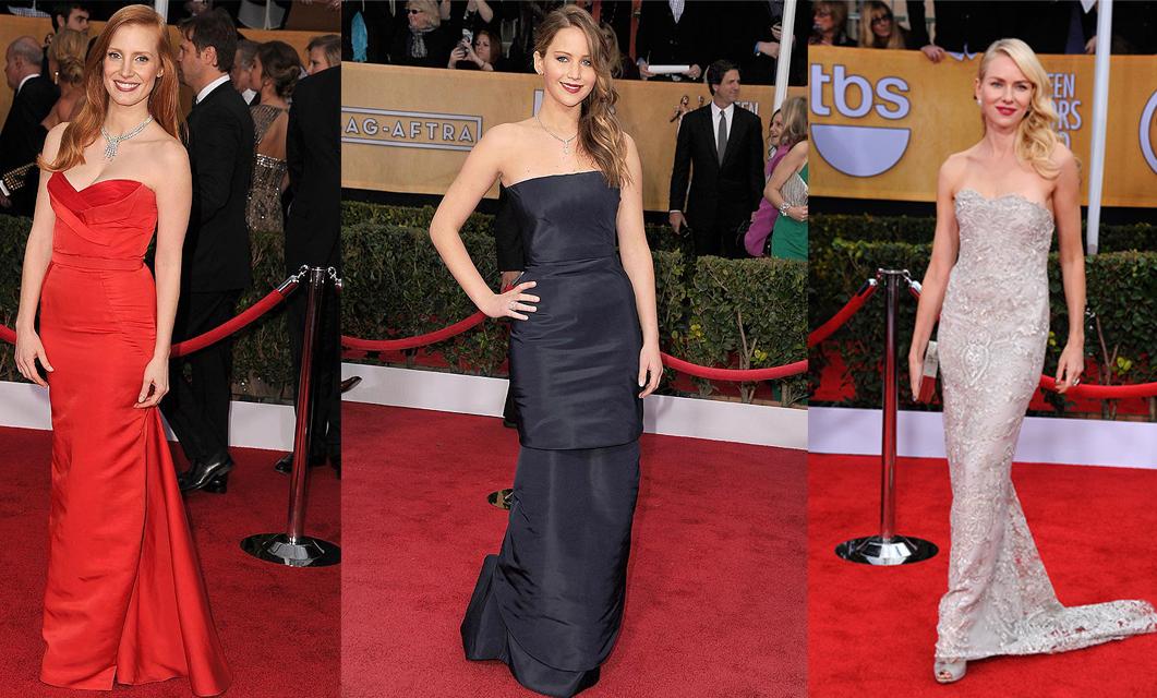 vestidos de la gala de los premios SAG