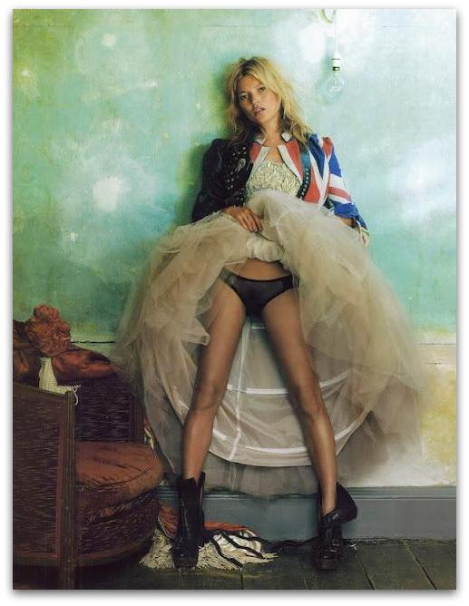 tutu kate moss by mario testino vogue 2008