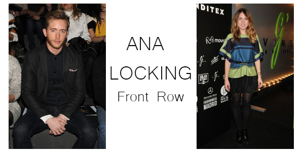 ANA LOCKING front row