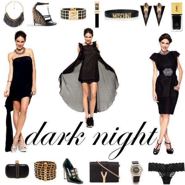 look dark night para san valentin