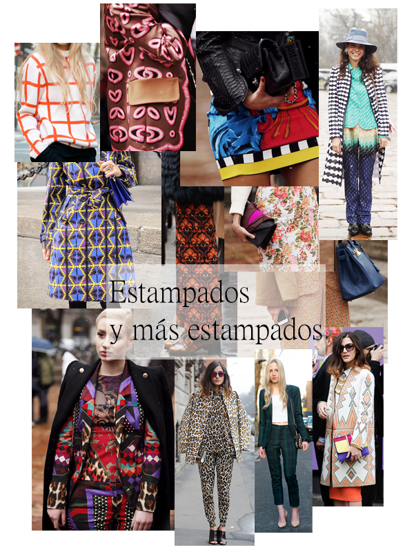 tendenecia estampados