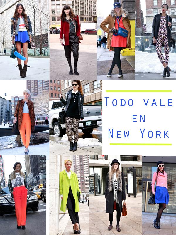 el estreet style que se lleva en New york