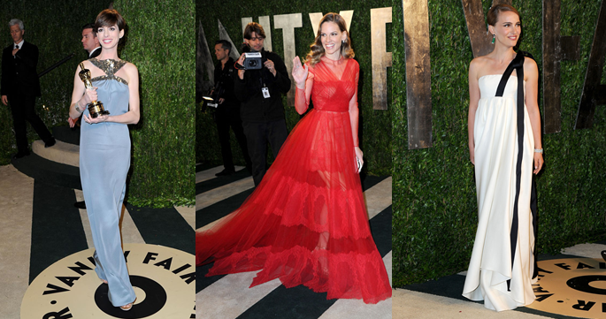 Looks de las celebrities en la fiesta Vanity Fair post Oscar