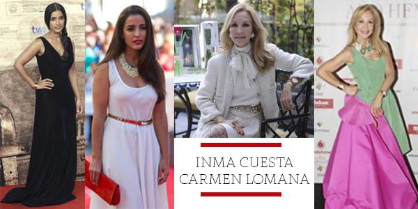 INMA CUESTA Y CARMEN LOMANA por nihil obstat
