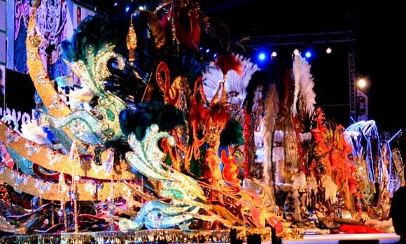 Reinas del carnaval de Santa Cruz de tenerifa