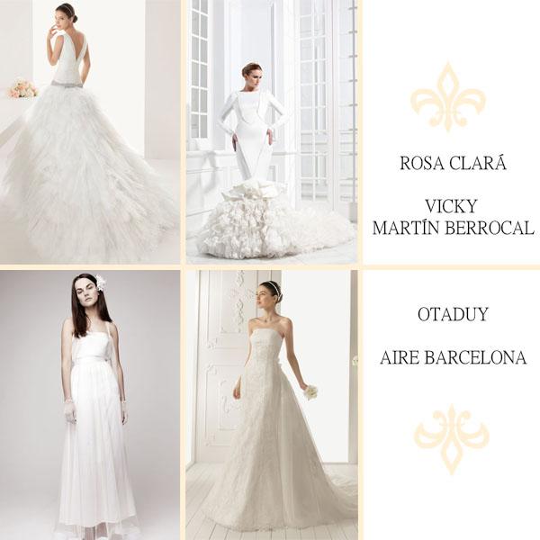Marcas vestidos boda