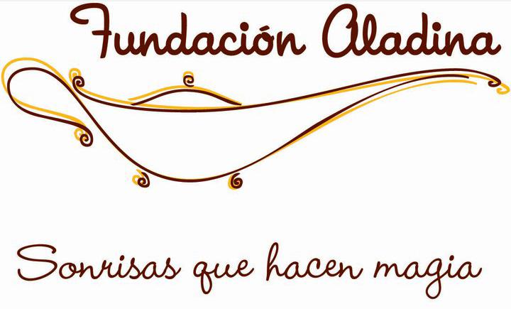 Logo Fundación Aladina (niños con cáncer)