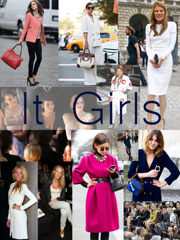 it girls las chicas que crean tendencia en las fashions weeks
