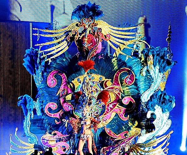 segunda dama del carnaval de santa cruz de tenerife fantasia bollywood
