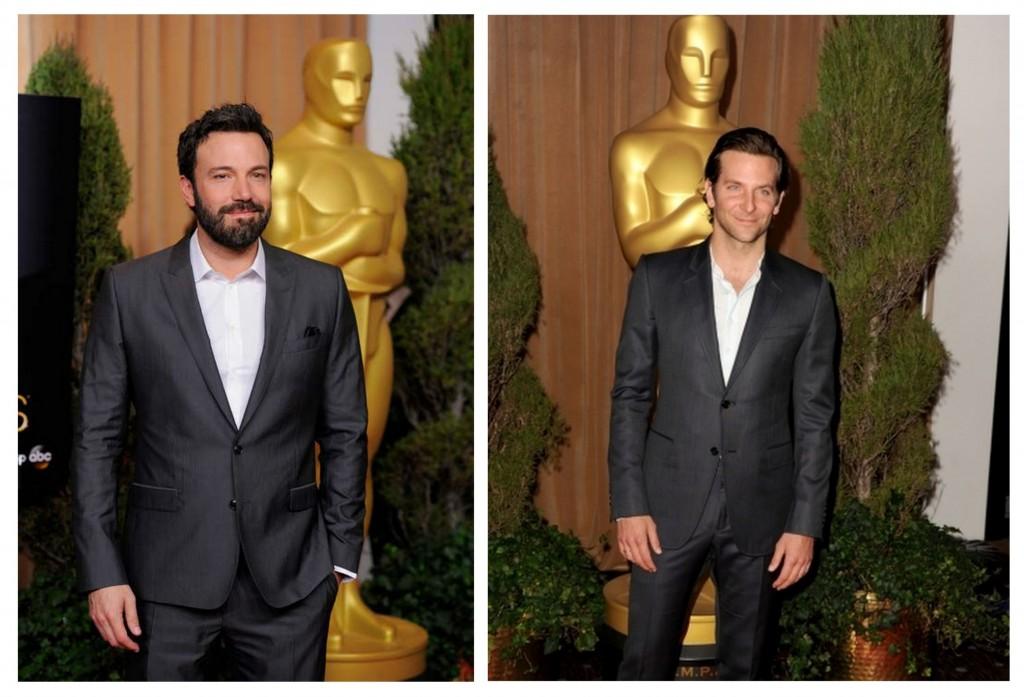 Ben Affleck y Bradley Cooper almuerzo nominados oscar 2013