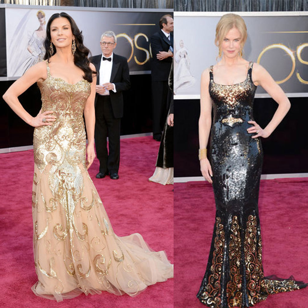 Los peores looks de los Oscar 2013