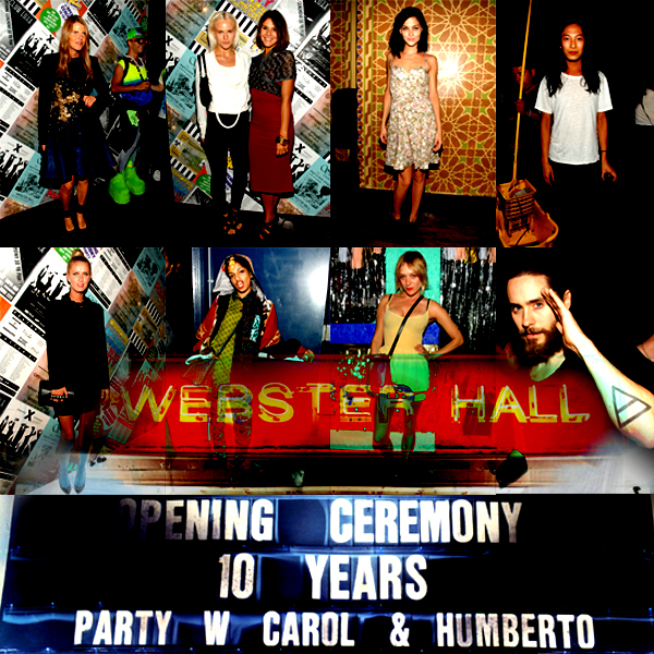 party open ceremony guest