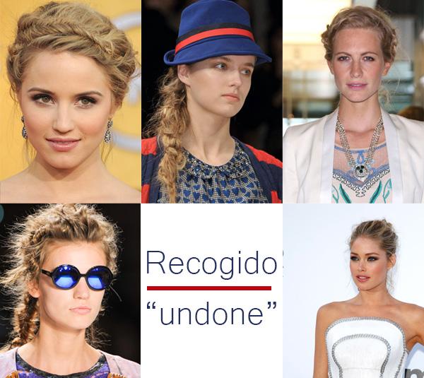 peinados undone