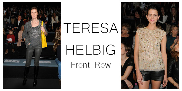 teresa helbig front row