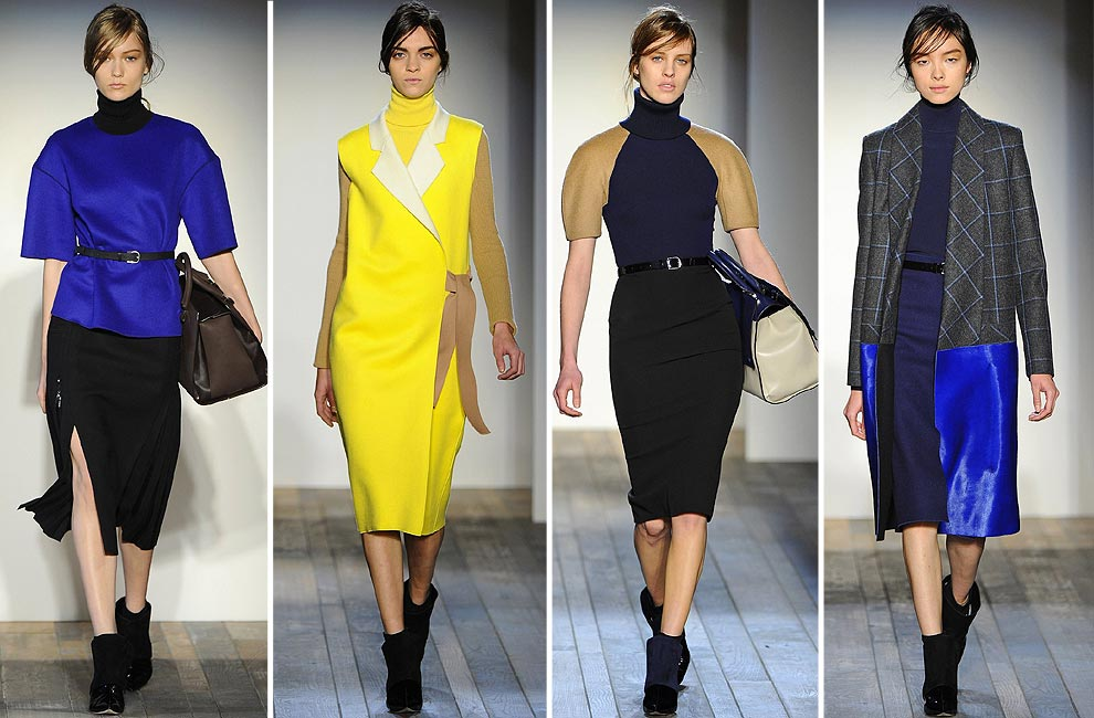 colores vibrantes para la colección de Victoria Beckham