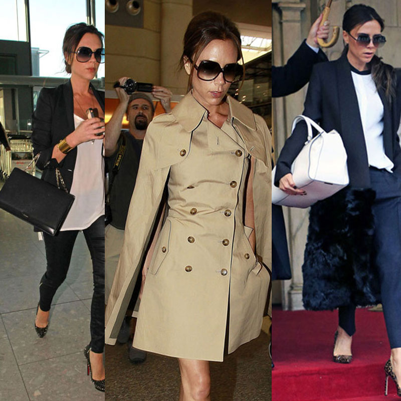 Los looks de Victoria Beckham