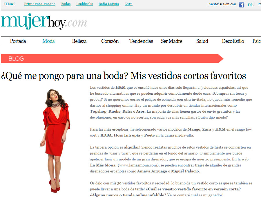 Clipping mujer hoy online