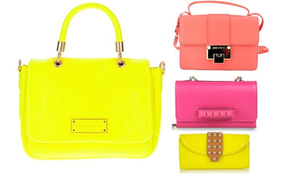 Bolsos Neon en varios tonos