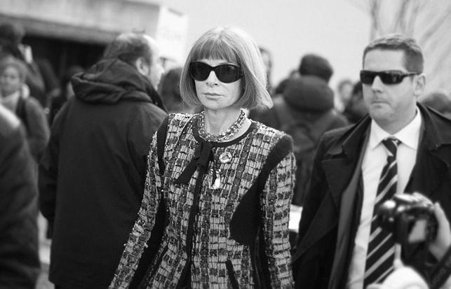 Anne Wintour la reina de la moda