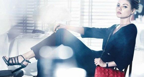 MIla Kunis y Dior