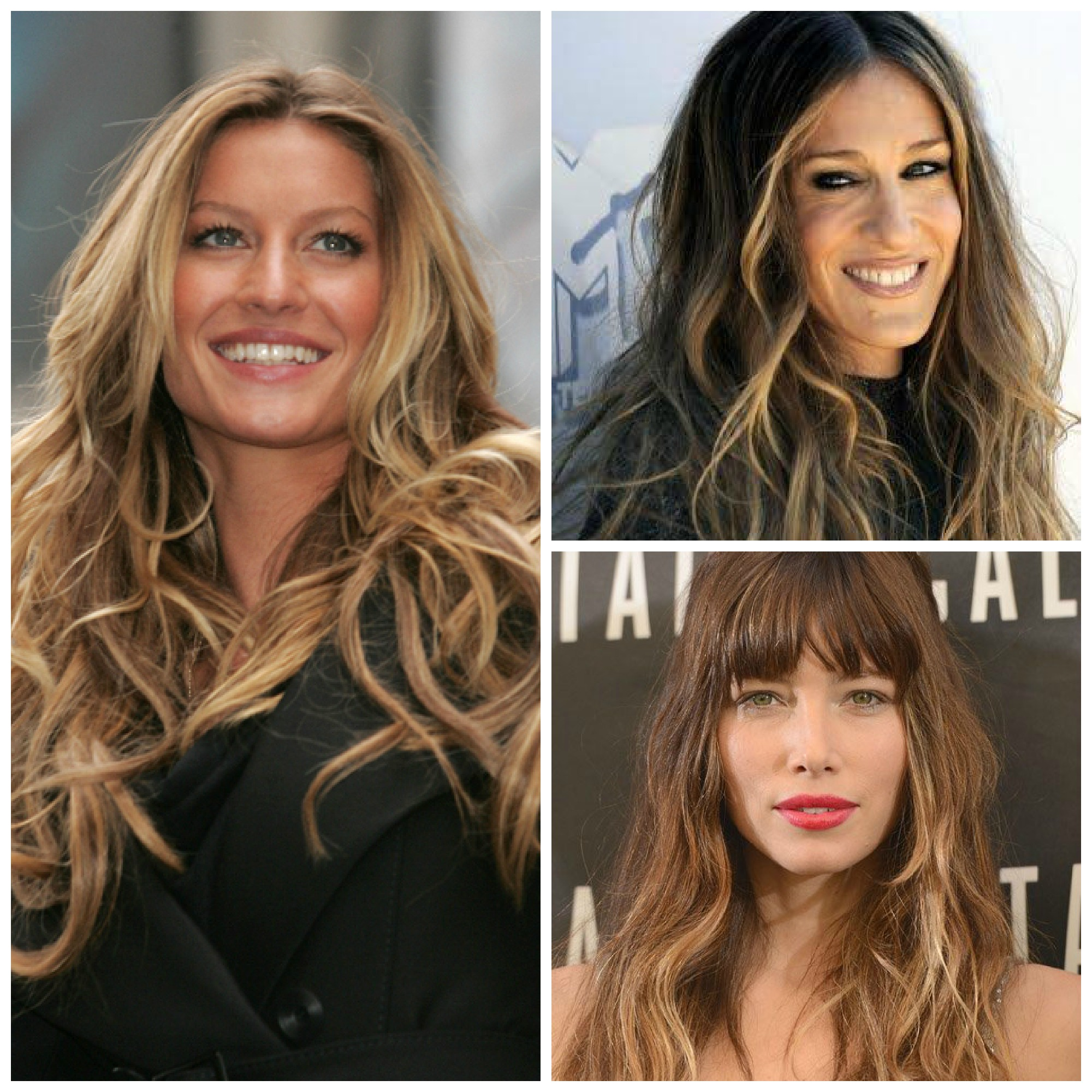 Las celebrities y las mechas californianas