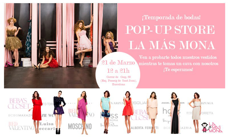 Pop-up Store de La Más Mona en Barcelona