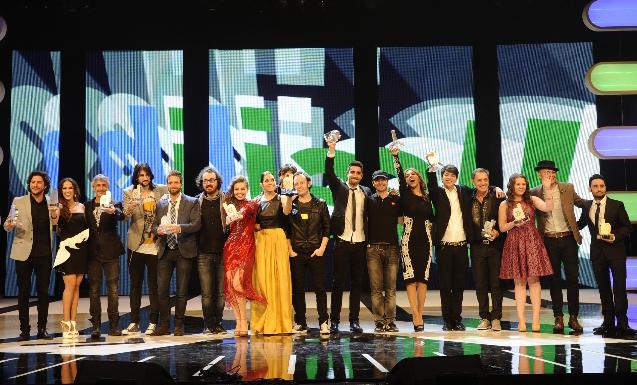 Ganadores de los premios de Cadena Dial