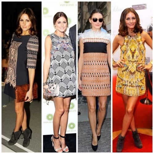 Olivia Palermo y los vestidos mini