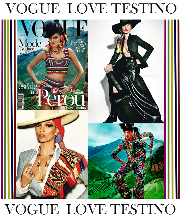 Mario Testino En Vogue Paris