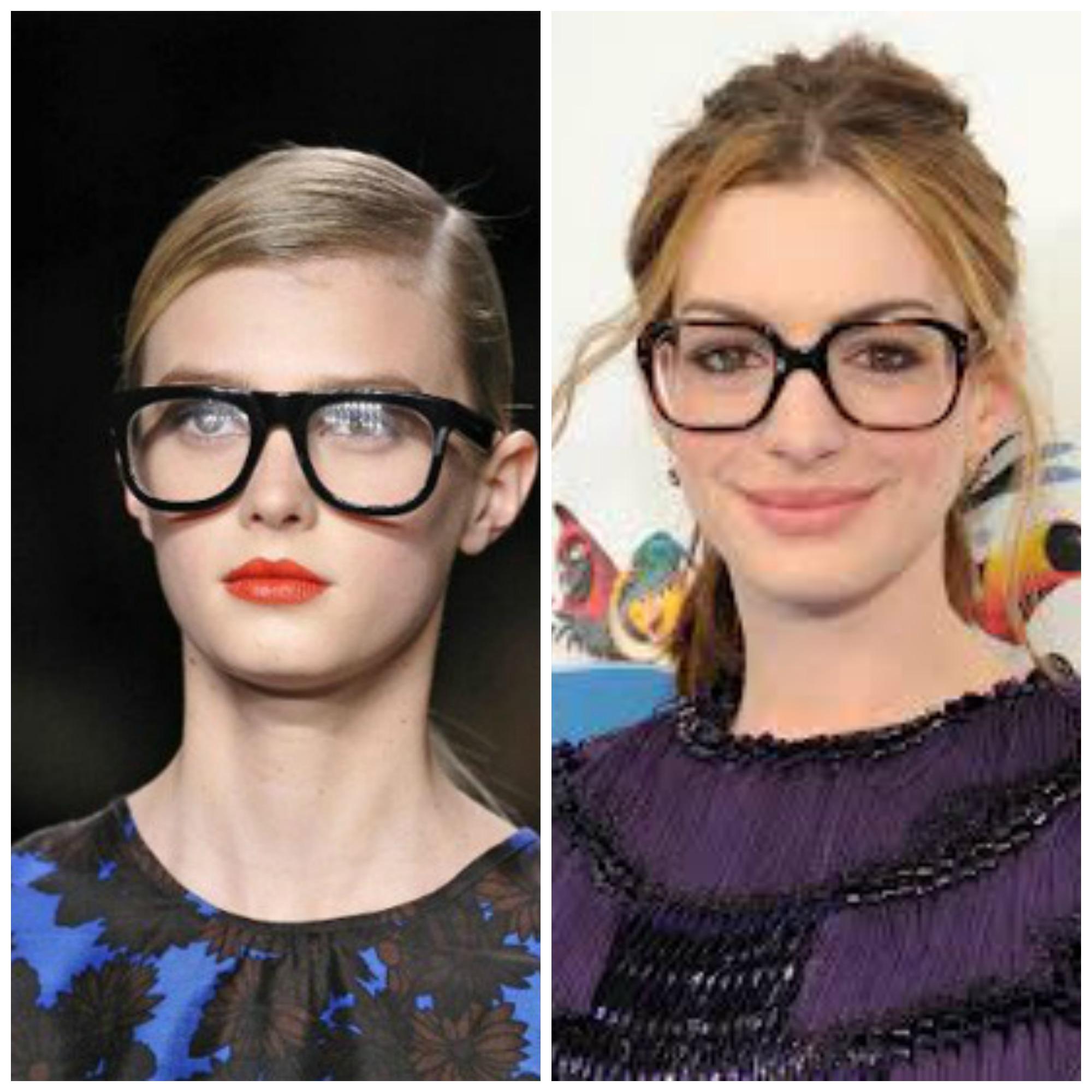 gafas graduadas cuadradas