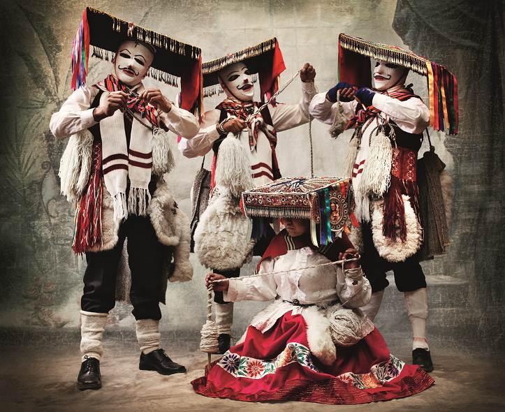Exposición cultura peruana de Mario Testino