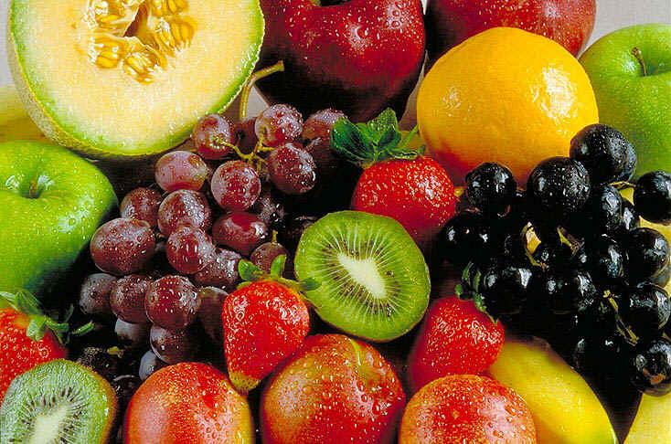 frutas para tu cabello