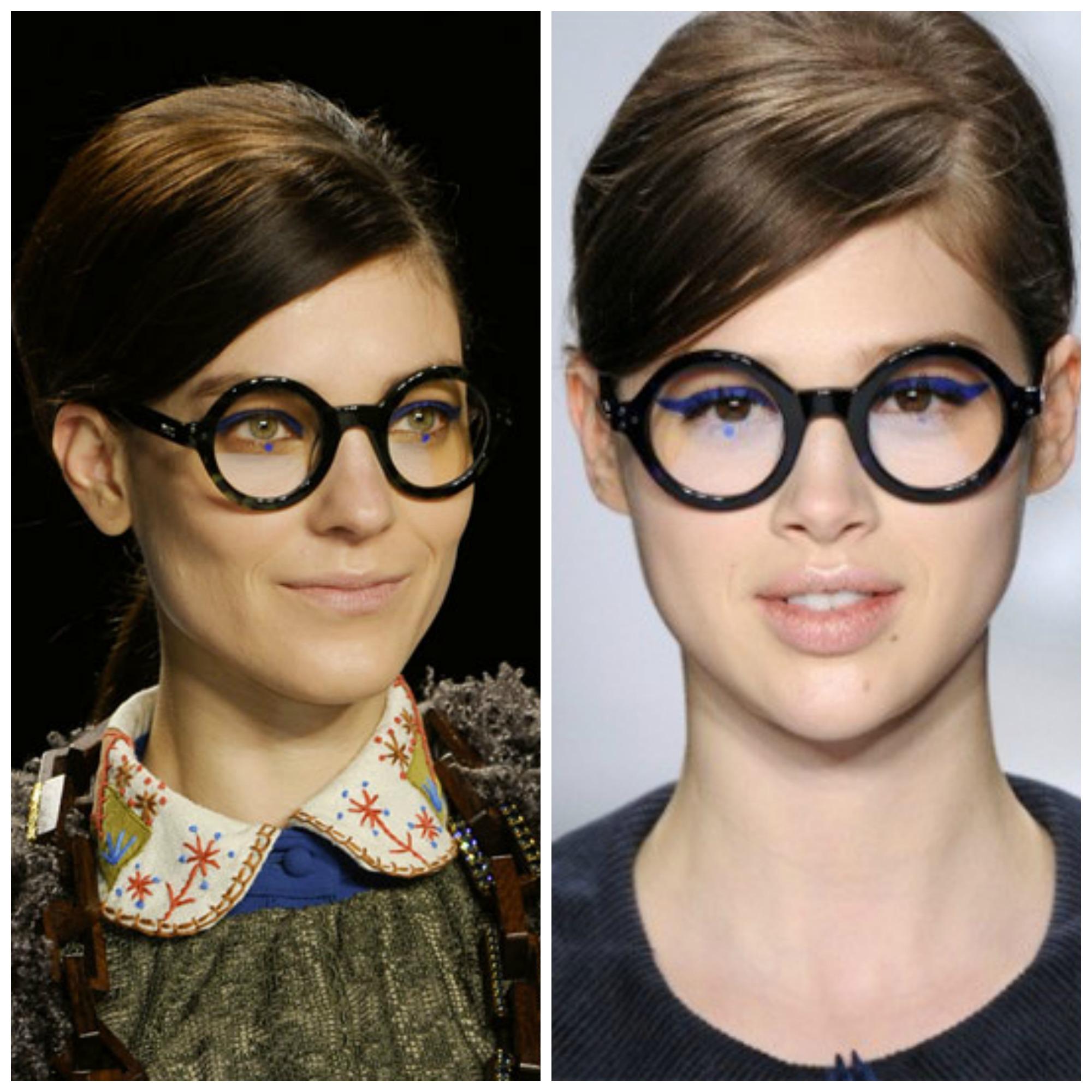 gafas graduadas redondas