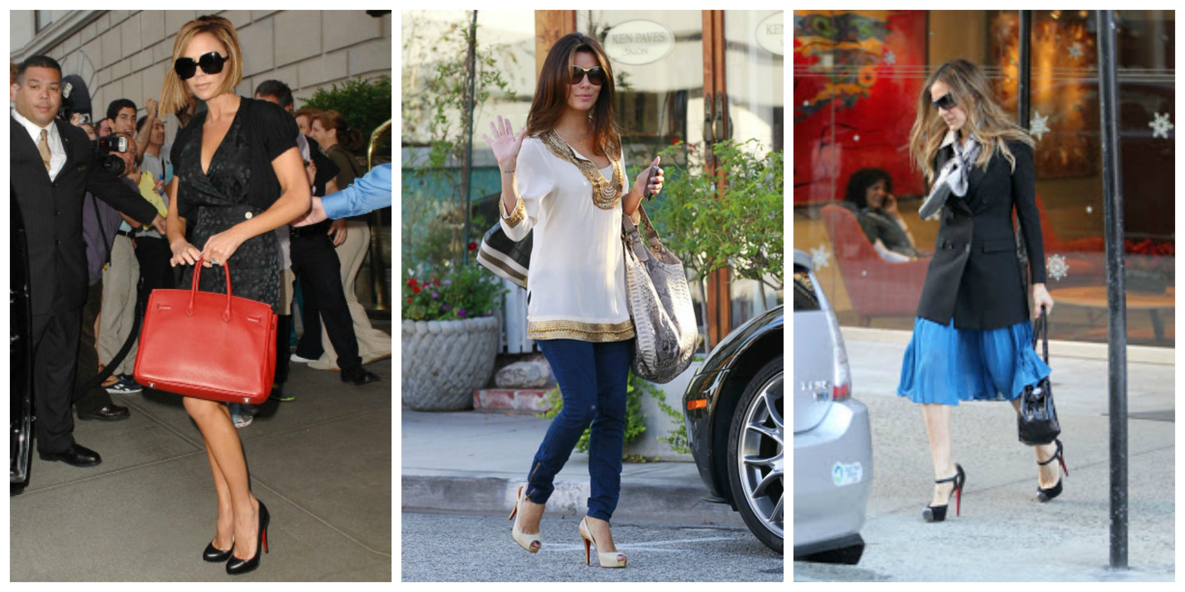 Las celebrities y Louboutin