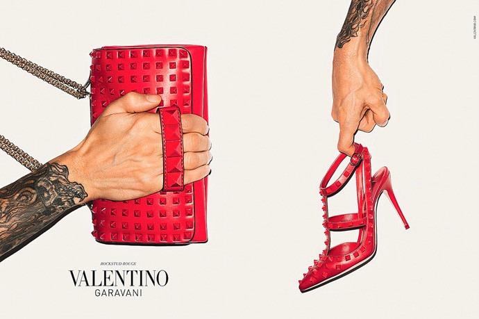 Valentino y Terry Richarson: la gran pareja