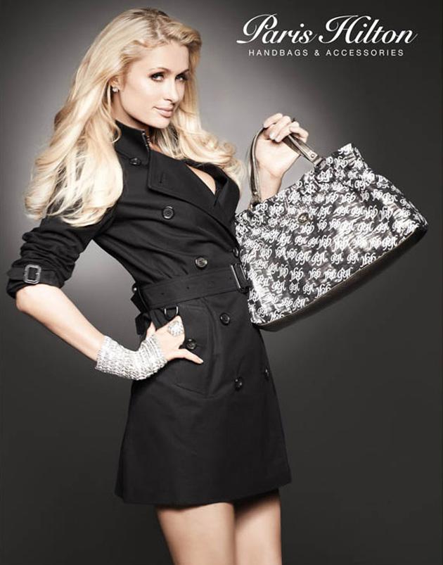 Paris Hilton diseñadora de bolsos