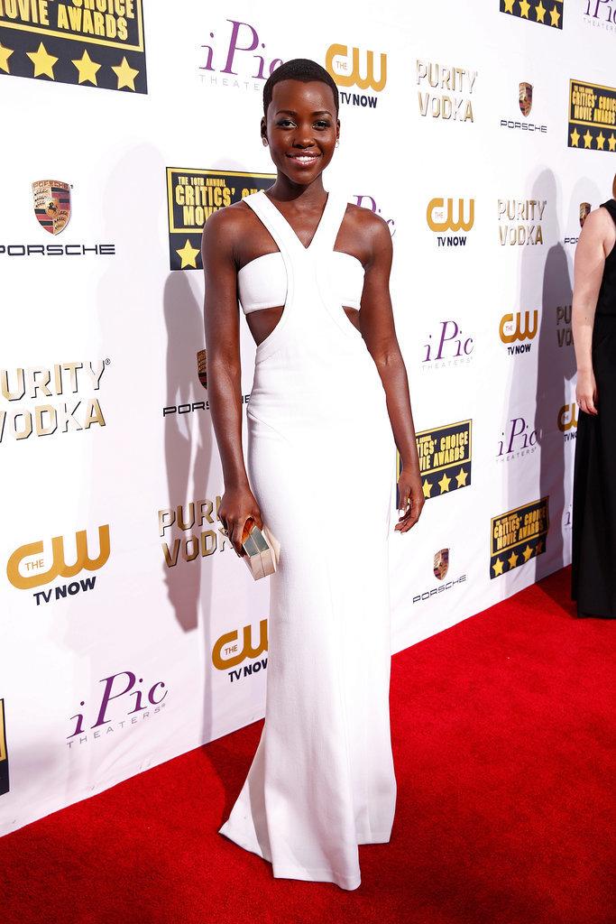 Lupita-Nyongo-Critics-Choice-Awards-2014_ calvin klein_la mas mona