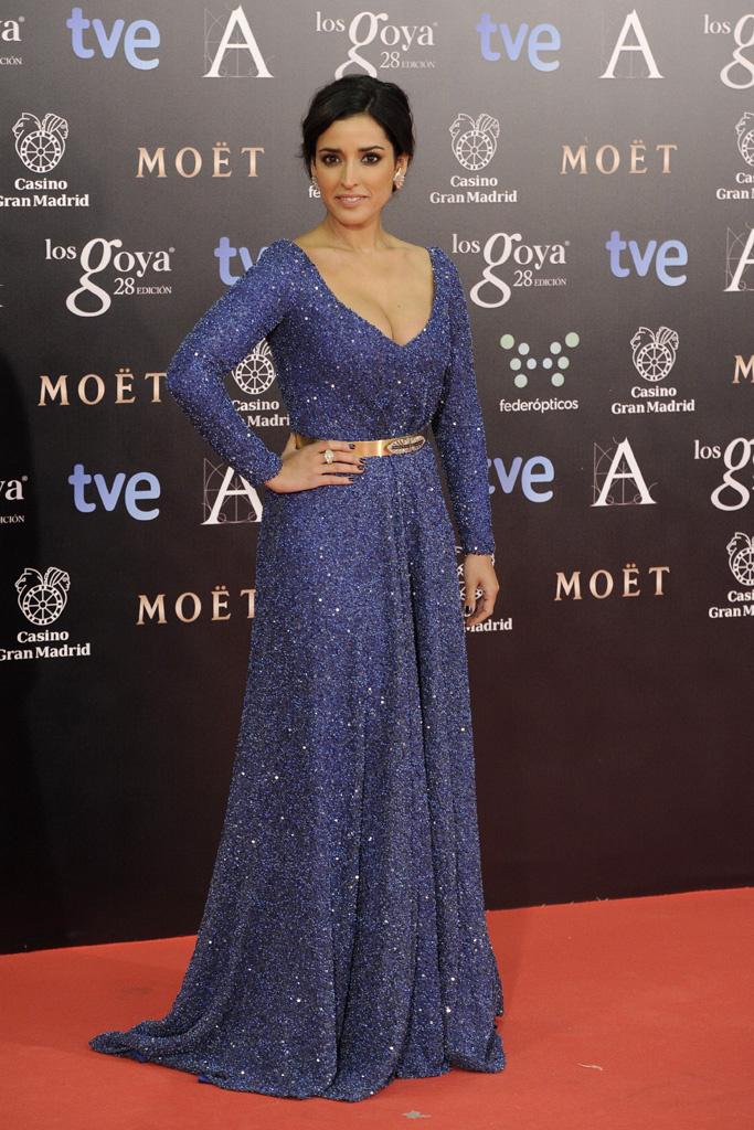 1. vestido azul goya 2014_la más mona