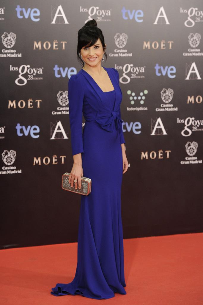 2. vestido azul goya 2014_la más mona