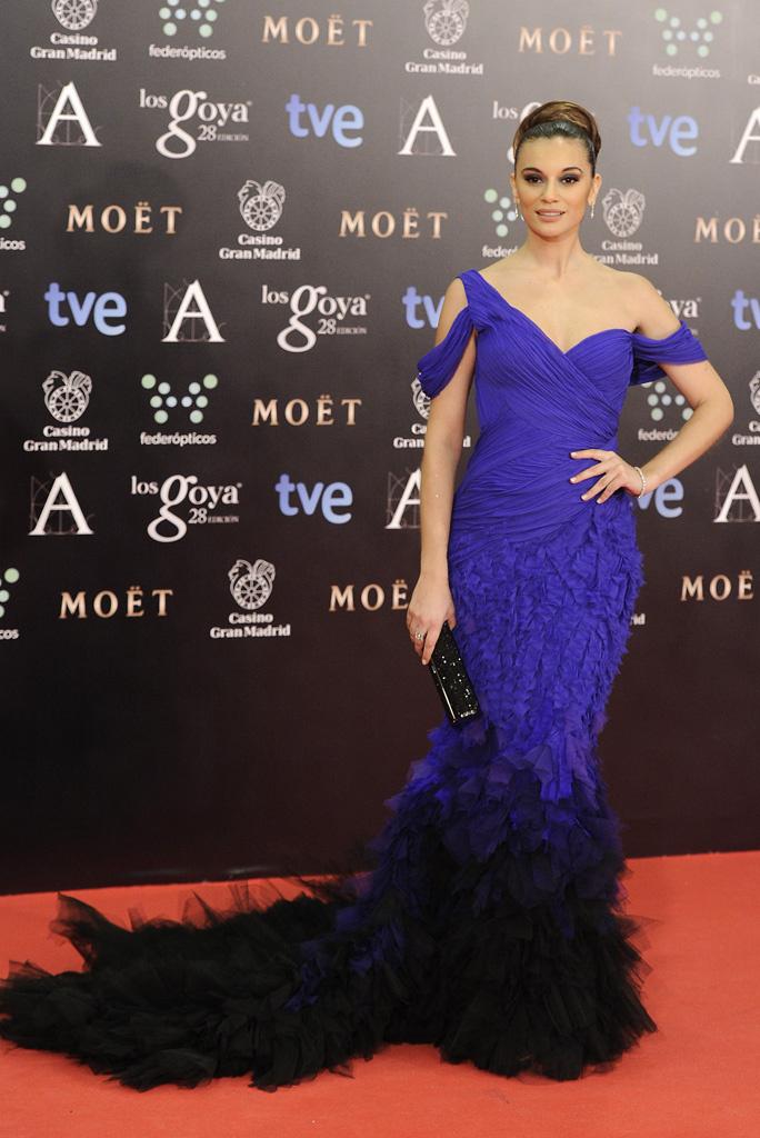 3. vestido azul goya 2014_la más mona